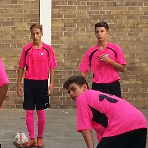 equipo de futbol Launch Iberica